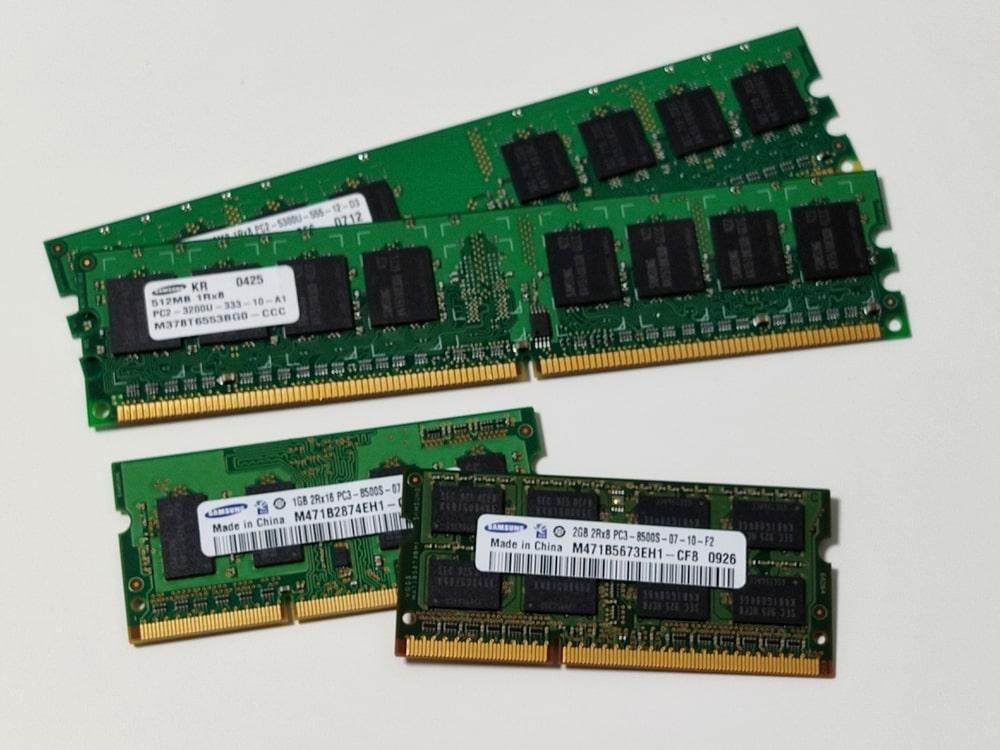 パソコンのメモリってどのくらいあればいいの?