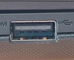 USB2端子